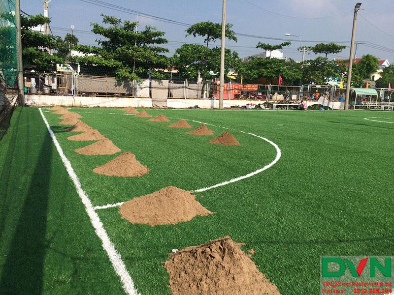 Một số hình ảnh của dự án sân cỏ nhân tạo tại Long An 5