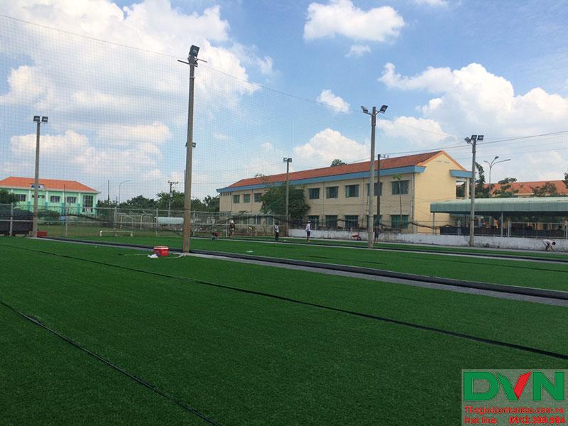 Một số hình ảnh của dự án sân cỏ nhân tạo tại Long An 11