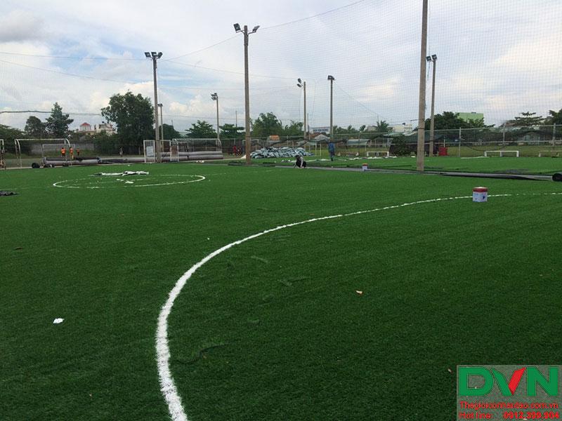 Một số hình ảnh của dự án sân cỏ nhân tạo tại Long An 12