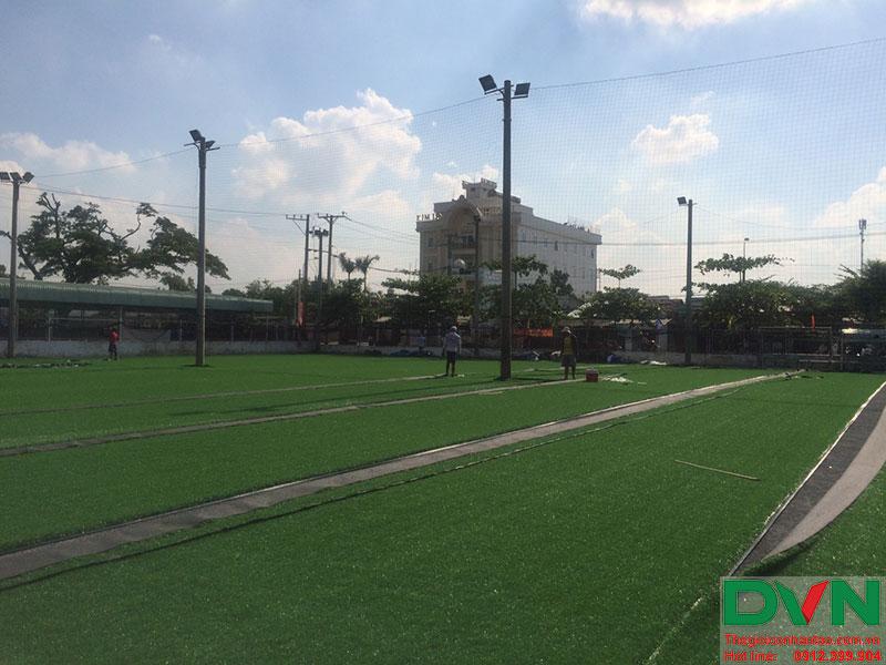 Một số hình ảnh của dự án sân cỏ nhân tạo tại Long An 14