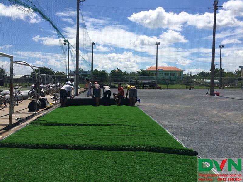 Một số hình ảnh của dự án sân cỏ nhân tạo tại Long An 15