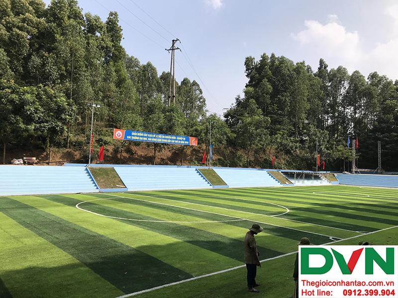 Hình ảnh dự án sân bóng đá cỏ nhân tạo Thanh Ba - Huyện Thanh Ba - Phú Thọ 1