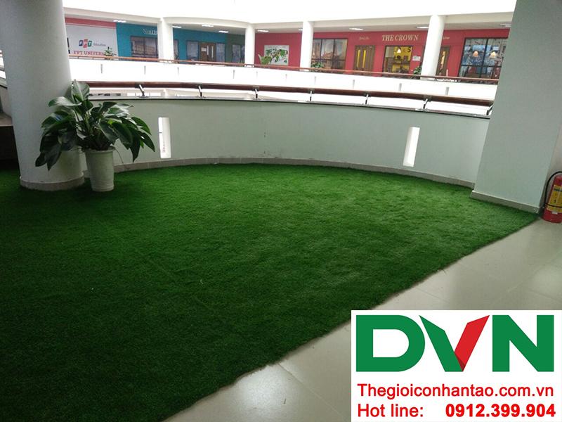 Một số hình ảnh của dự án sân cỏ nhân tạo trường Đại học FPT Hòa Lạc 2