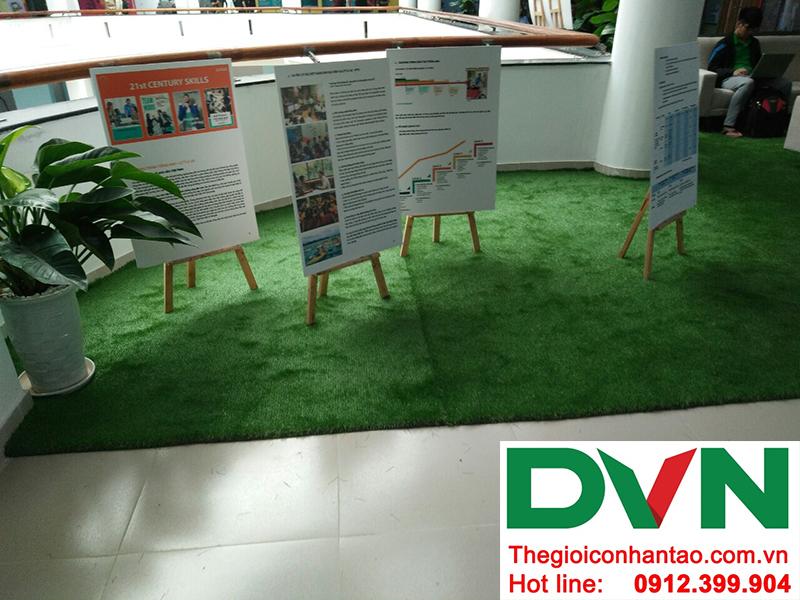 Một số hình ảnh của dự án sân cỏ nhân tạo trường Đại học FPT Hòa Lạc 4