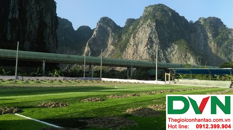 Một số hình ảnh của dự án sân bóng đá cỏ nhân tạo tạiCẩm Thạch, Tp Cẩm Phả, tỉnh Quảng Ninh 5