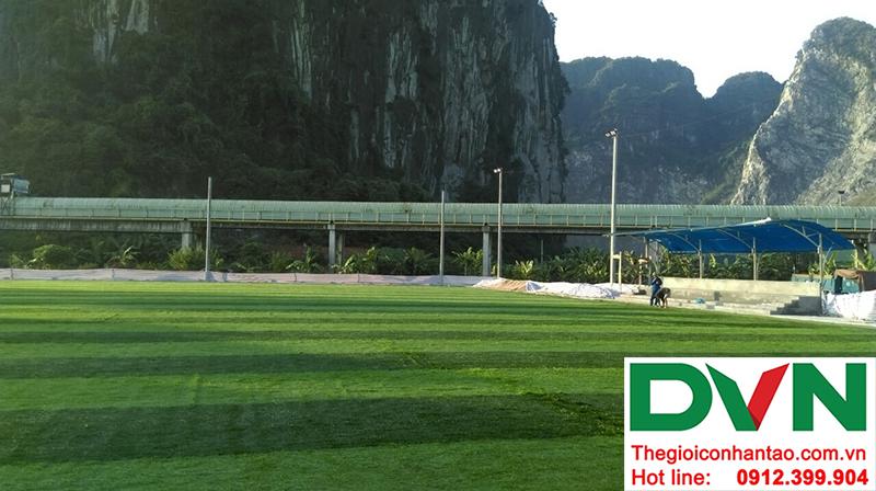 Một số hình ảnh của dự án sân bóng đá cỏ nhân tạo tạiCẩm Thạch, Tp Cẩm Phả, tỉnh Quảng Ninh 9