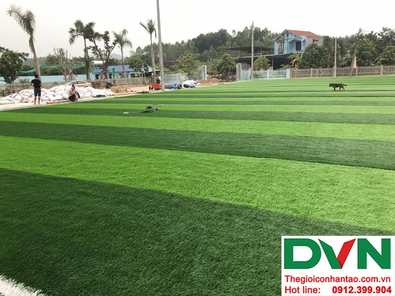 Hình ảnh tại dự án sân bóng đá cỏ nhân tạo Hồ Quan - Hữu Lũng - Lạng Sơn 4