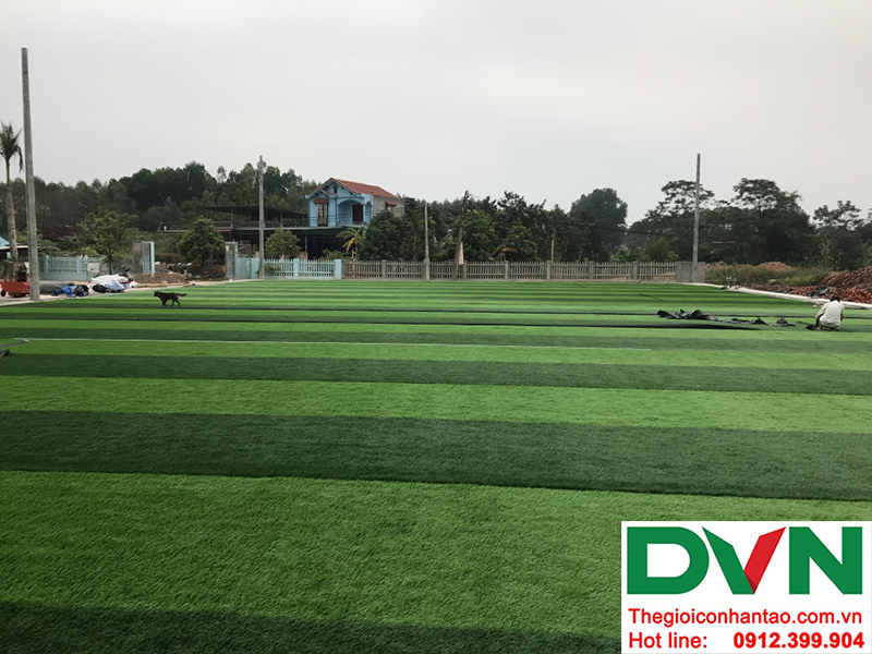 Hình ảnh tại dự án sân bóng đá cỏ nhân tạo Hồ Quan - Hữu Lũng - Lạng Sơn 5