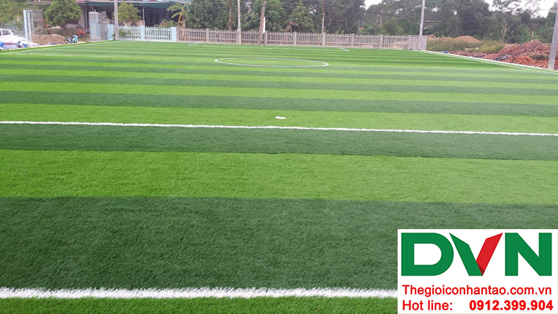 Hình ảnh tại dự án sân bóng đá cỏ nhân tạo Hồ Quan - Hữu Lũng - Lạng Sơn 1