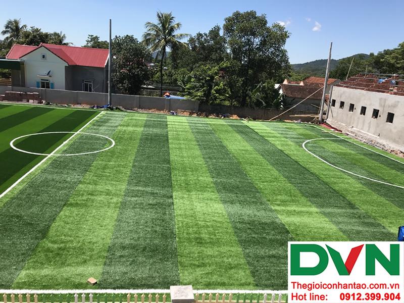 Một số hình ảnh của dự án sân bóng cỏ nhân tạo tại Trường mầm non Hoa Sen, Nghĩa Đàn, Nghệ An 18