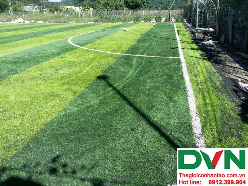 Một số hình ảnh của dự án sân bóng cỏ nhân tạo tại Trường mầm non Hoa Sen, Nghĩa Đàn, Nghệ An 8