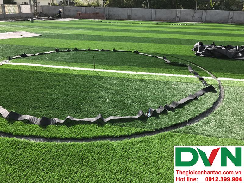 Một số hình ảnh của dự án sân bóng cỏ nhân tạo tại Trường mầm non Hoa Sen, Nghĩa Đàn, Nghệ An 9
