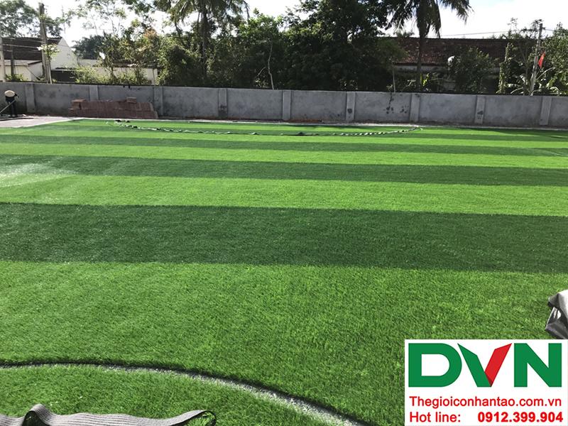 Một số hình ảnh của dự án sân bóng cỏ nhân tạo tại Trường mầm non Hoa Sen, Nghĩa Đàn, Nghệ An 10
