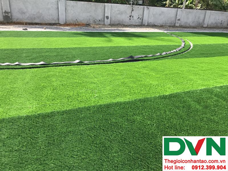 Một số hình ảnh của dự án sân bóng cỏ nhân tạo tại Trường mầm non Hoa Sen, Nghĩa Đàn, Nghệ An 11