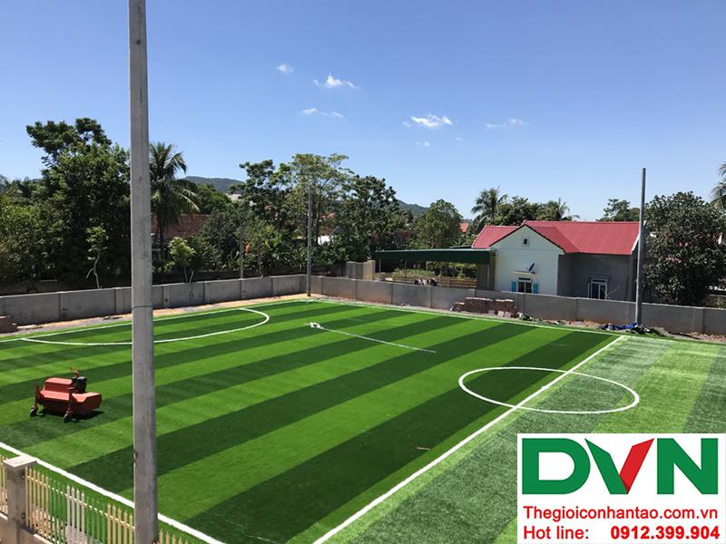 Một số hình ảnh của dự án sân bóng cỏ nhân tạo tại Trường mầm non Hoa Sen, Nghĩa Đàn, Nghệ An 14