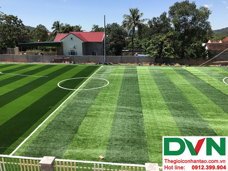Một số hình ảnh của dự án sân bóng cỏ nhân tạo tại Trường mầm non Hoa Sen, Nghĩa Đàn, Nghệ An 15