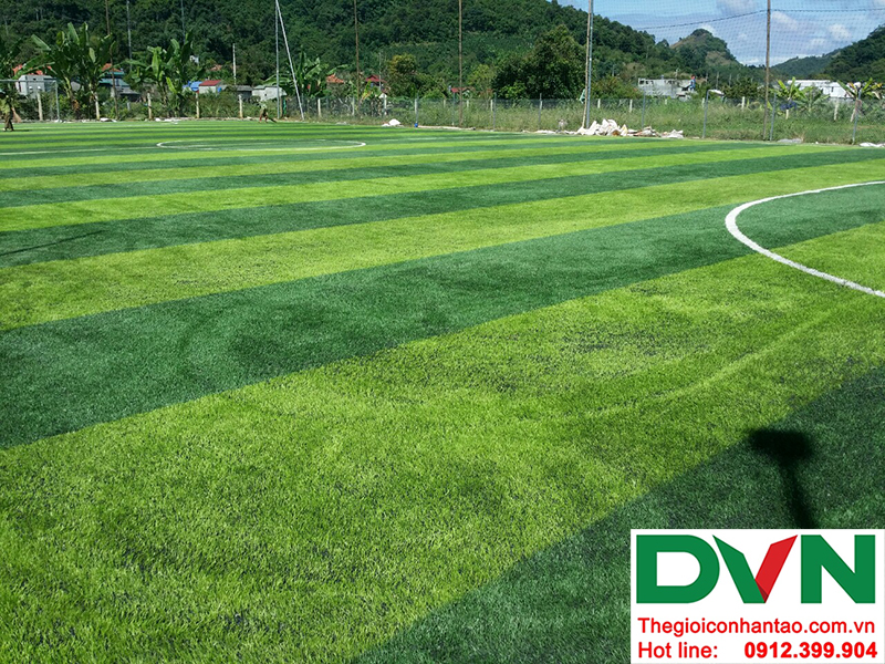 Một số hình ảnh của dự án sân bóng cỏ nhân tạo tại Trường mầm non Hoa Sen, Nghĩa Đàn, Nghệ An 16