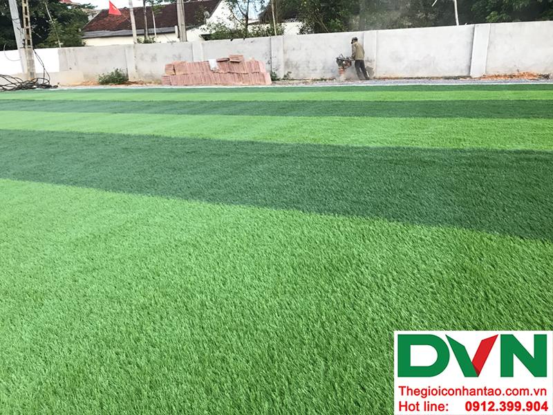 Một số hình ảnh của dự án sân bóng cỏ nhân tạo tại Trường mầm non Hoa Sen, Nghĩa Đàn, Nghệ An 17
