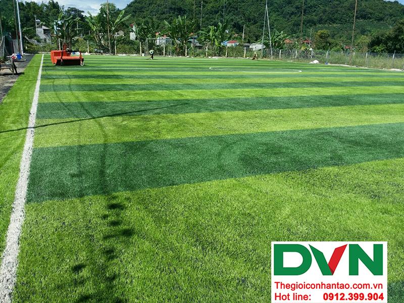 Một số hình ảnh của dự án sân bóng cỏ nhân tạo tại Trường mầm non Hoa Sen, Nghĩa Đàn, Nghệ An 6