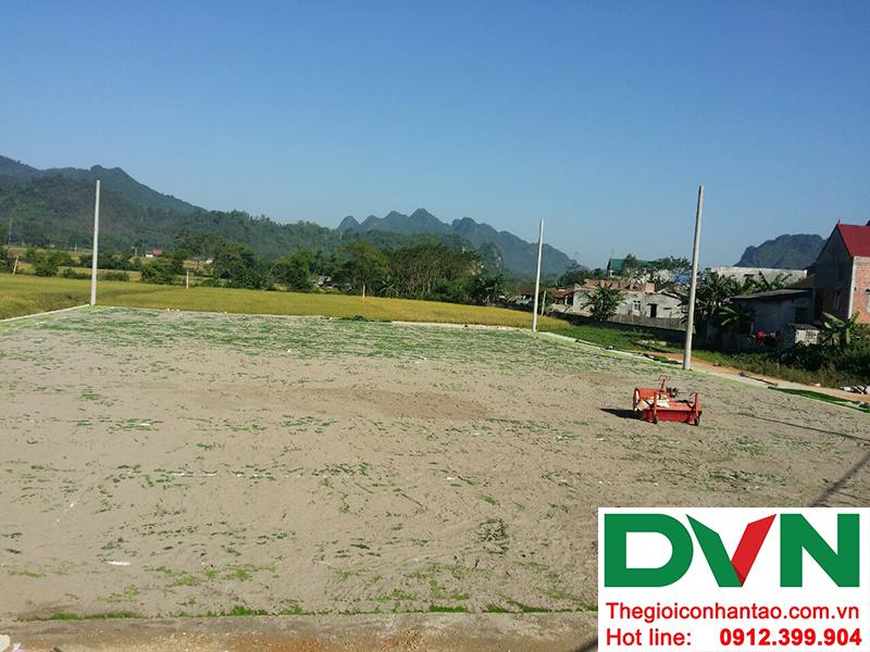 Một số hình ảnh của Dự án sân bóng đá cỏ nhân tạo Yên Phúc - Văn Quán - Lạng Sơn 2