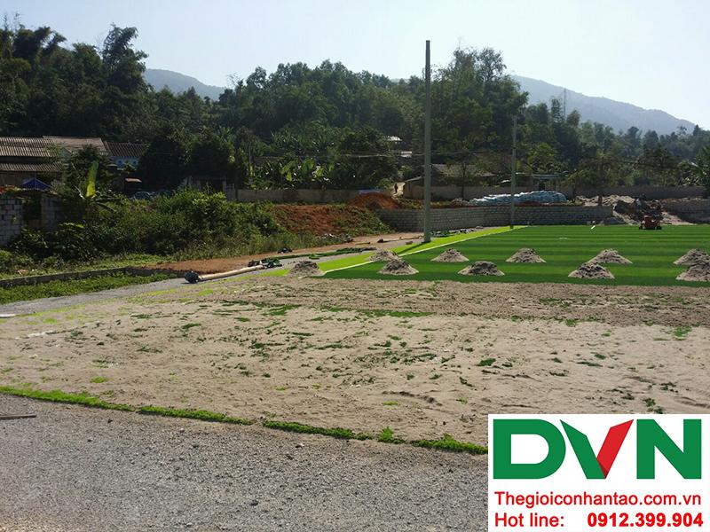 Một số hình ảnh của Dự án sân bóng đá cỏ nhân tạo Yên Phúc - Văn Quán - Lạng Sơn 1