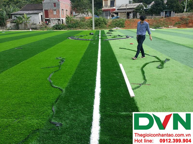 Một số hình ảnh của Dự án sân bóng đá cỏ nhân tạo Yên Phúc - Văn Quán - Lạng Sơn 8