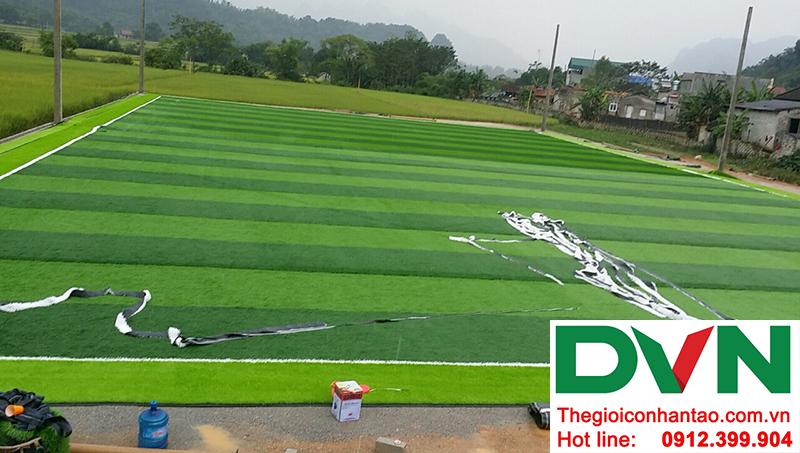 Một số hình ảnh của Dự án sân bóng đá cỏ nhân tạo Yên Phúc - Văn Quán - Lạng Sơn 9