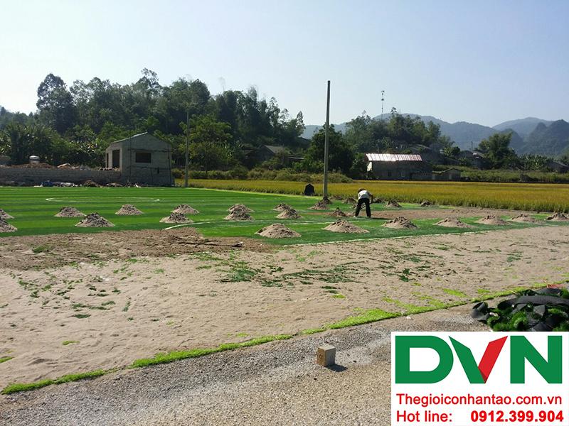Một số hình ảnh của Dự án sân bóng đá cỏ nhân tạo Yên Phúc - Văn Quán - Lạng Sơn 3