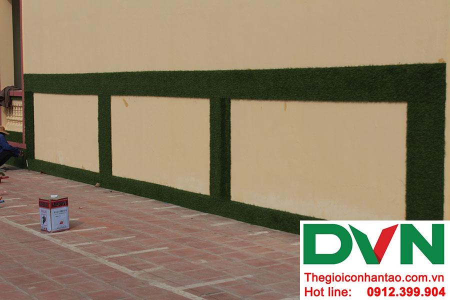 Một số hình ảnh dự án trải sân Trường mầm non Bắc Sơn, Sóc Sơn, Hà Nội 15