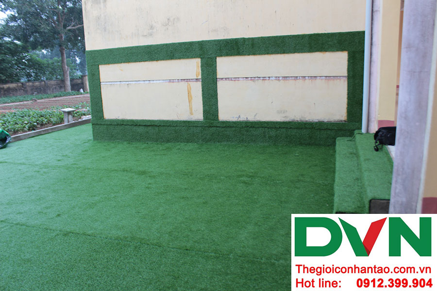 Một số hình ảnh dự án trải sân Trường mầm non Bắc Sơn, Sóc Sơn, Hà Nội 19
