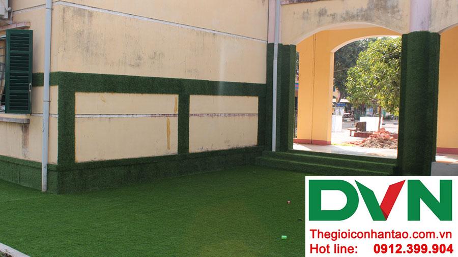 Một số hình ảnh dự án trải sân Trường mầm non Bắc Sơn, Sóc Sơn, Hà Nội 7