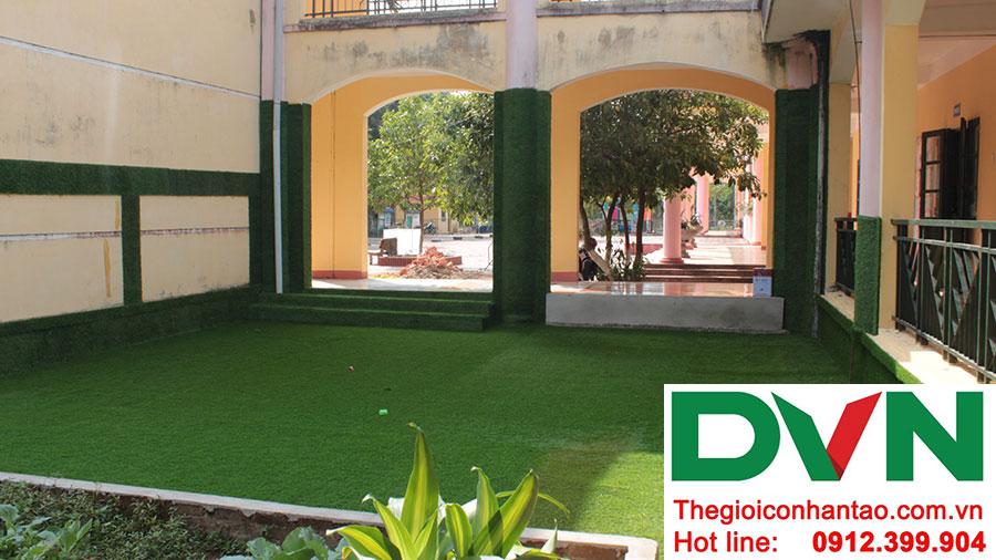 Một số hình ảnh dự án trải sân Trường mầm non Bắc Sơn, Sóc Sơn, Hà Nội 9