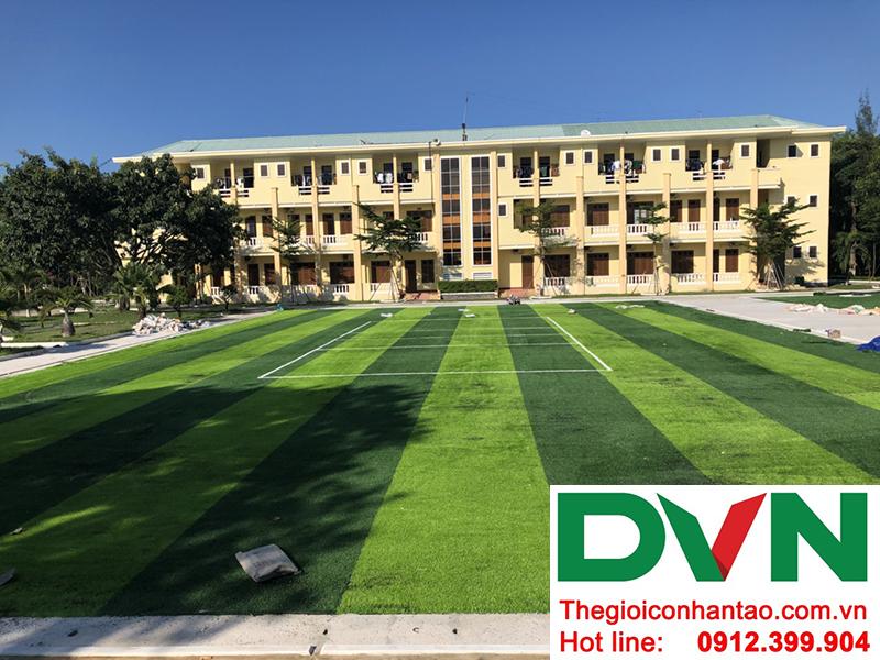 Dưới đây là một vài hình ảnh của dự án sân bóng cỏ nhân tạo tại Hòa Hiệp Nam, Liên Chiểu, Đà Nẵng 1