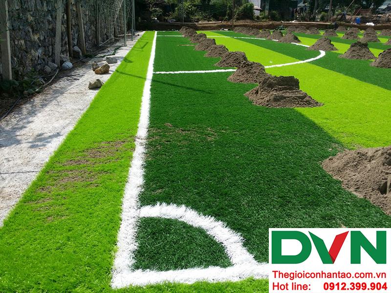 Một số hình ảnh tại Dự án sân cỏ nhân tạoXã Chiềng Ngần - Thành phố Sơn La 4
