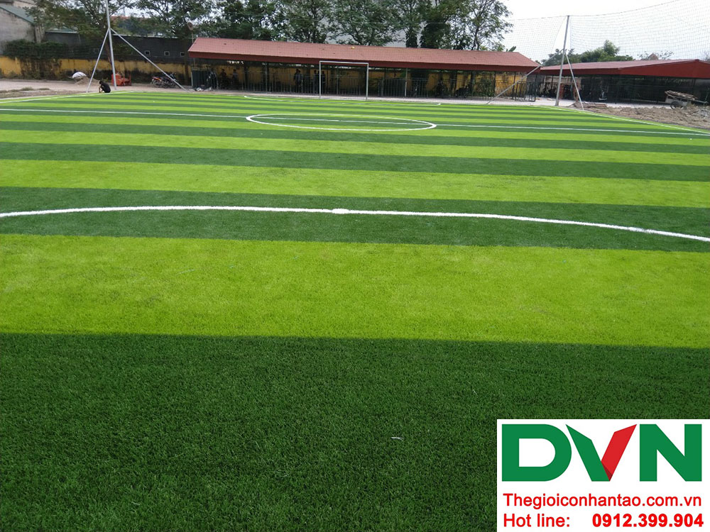 Một số hình ảnh dự án sân bóng cỏ nhân tạo tại Ecopark, Văng Giang, Hưng Yên 5