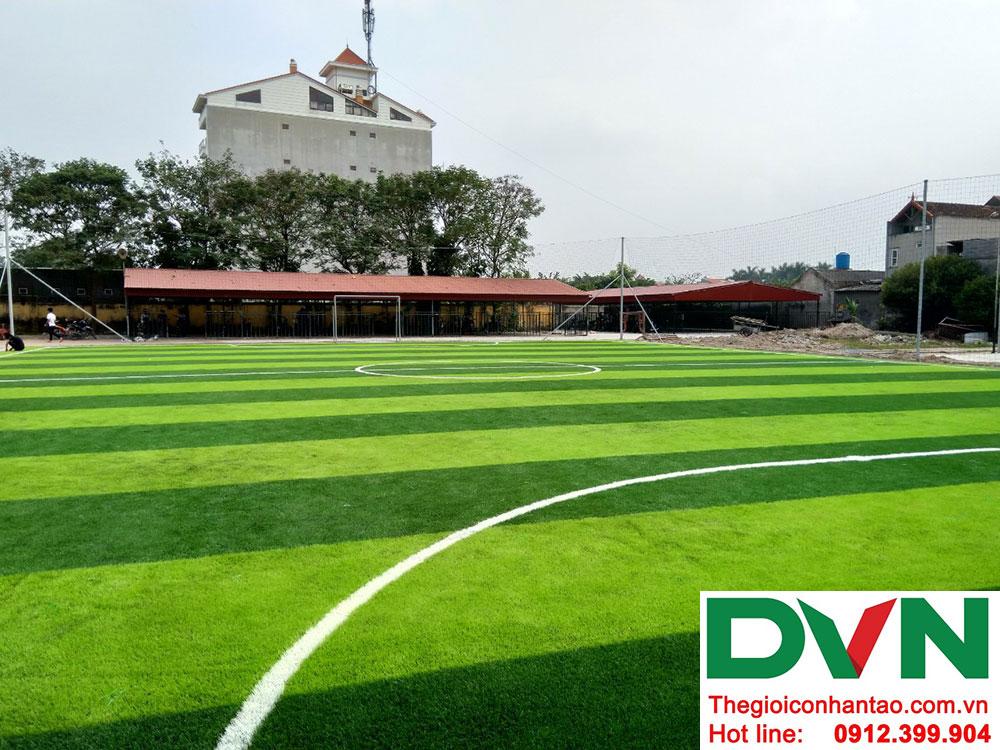 Một số hình ảnh dự án sân bóng cỏ nhân tạo tại Ecopark, Văng Giang, Hưng Yên 6