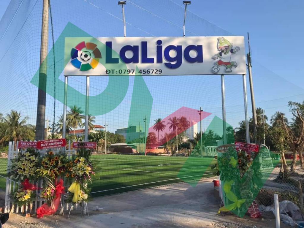 Dự án sân bóng đá cỏ nhân tạo LaLiGa tại Rạch Sỏi, Kiên Giang 1
