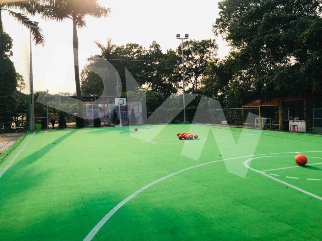 Một số hình ảnh của dự án sân bóng rổ tạiErahouse, Long Biên, Hà Nội 4