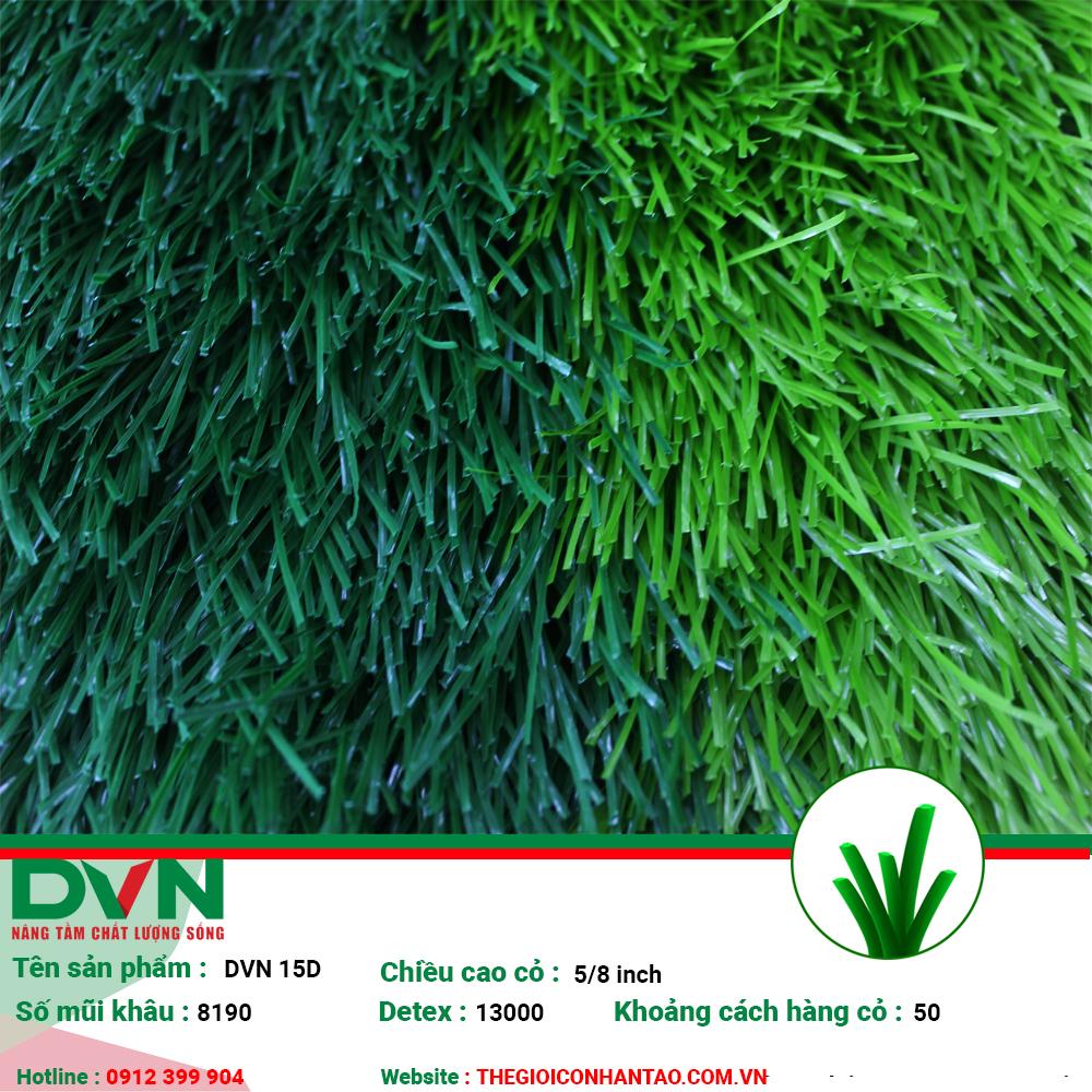 1, Hình ảnh sản phẩm cỏ nhân tạo sân bóng DVN 15D 2