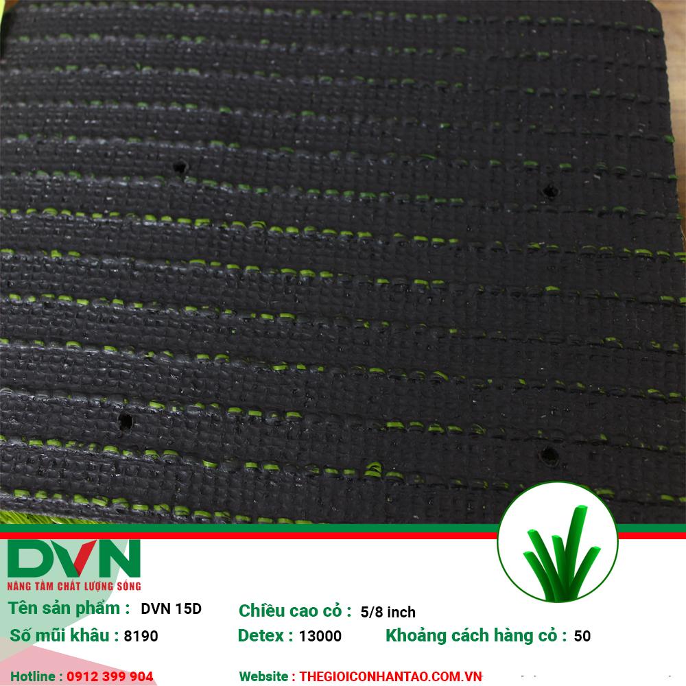 1, Hình ảnh sản phẩm cỏ nhân tạo sân bóng DVN 15D 3