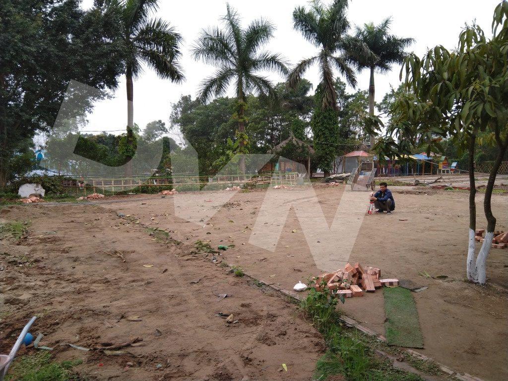 Một số hình ảnh của dự án sân bóng tại Trang trại giáo dục Erahouse, Long Biên, Hà Nội 1