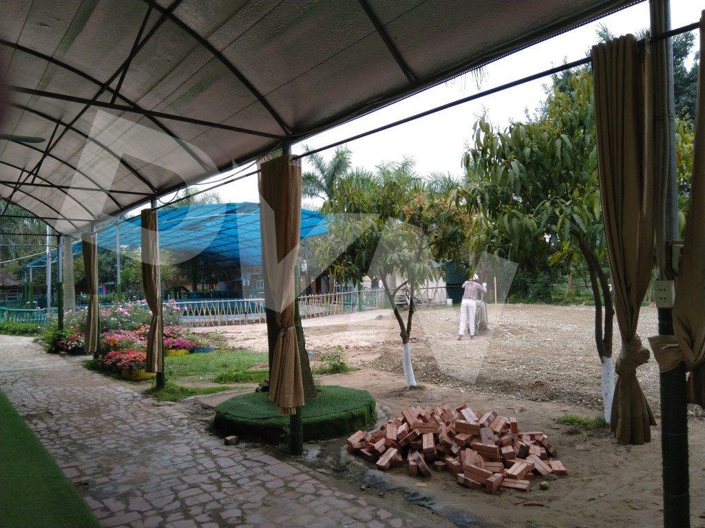 Một số hình ảnh của dự án sân bóng tại Trang trại giáo dục Erahouse, Long Biên, Hà Nội 2