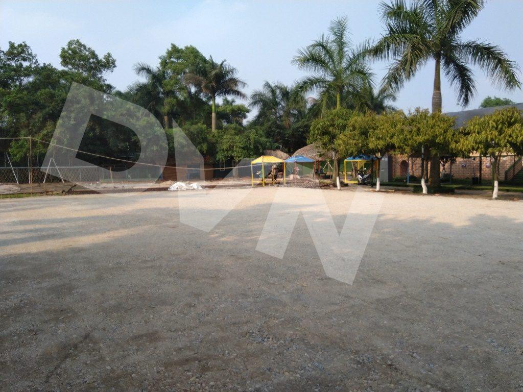 Một số hình ảnh của dự án sân bóng tại Trang trại giáo dục Erahouse, Long Biên, Hà Nội 3