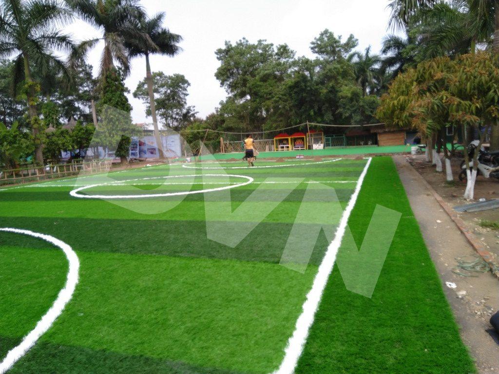 Một số hình ảnh của dự án sân bóng tại Trang trại giáo dục Erahouse, Long Biên, Hà Nội 8