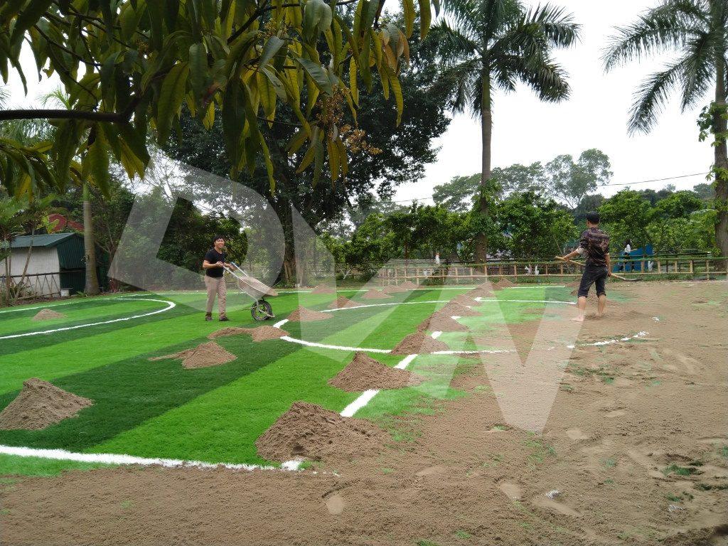 Một số hình ảnh của dự án sân bóng tại Trang trại giáo dục Erahouse, Long Biên, Hà Nội 7