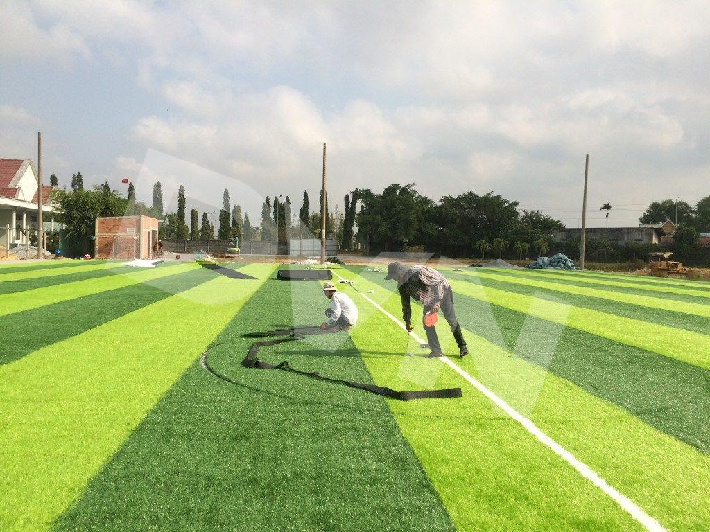1, Một số hình ảnh của dự án sân bóng rổ tại Đức Hòa, Long An 3