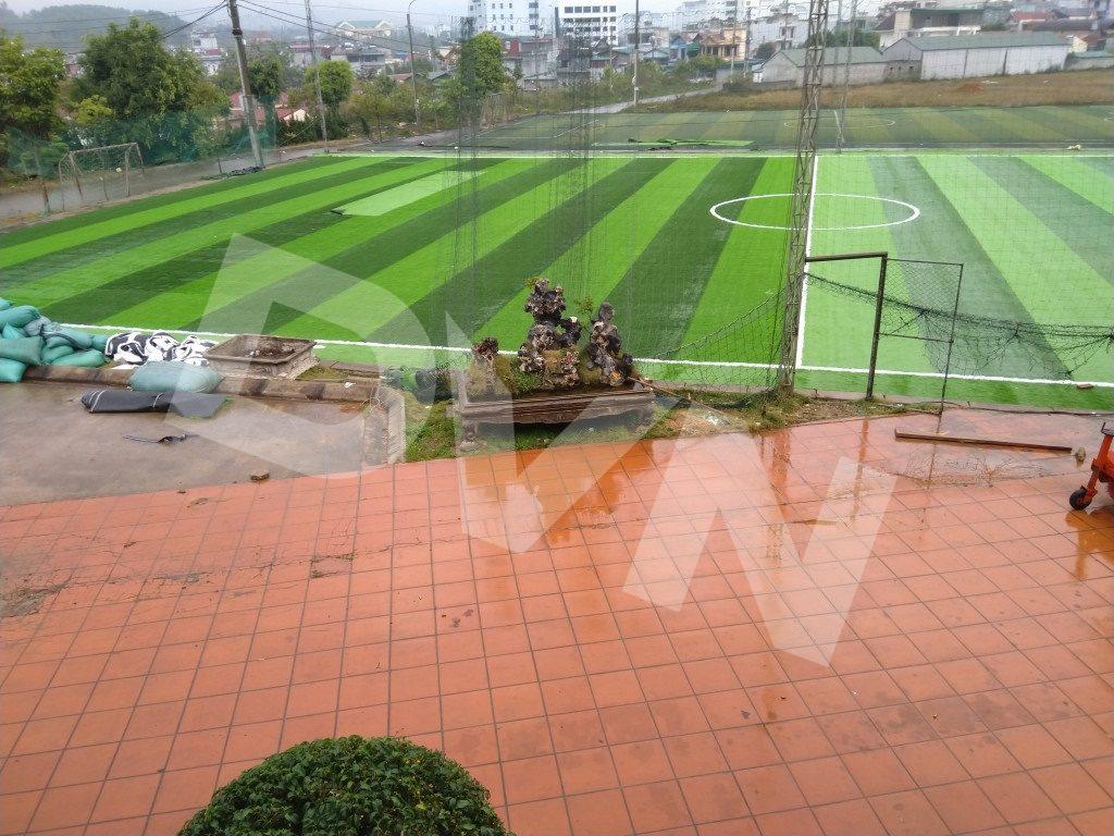 1, Một số hình ảnh của dự án sân bóng đátạiTp.Lai Châu 1