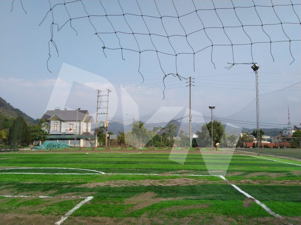 1, Một số hình ảnh của dự án sân bóng đátạiTp.Lai Châu 5