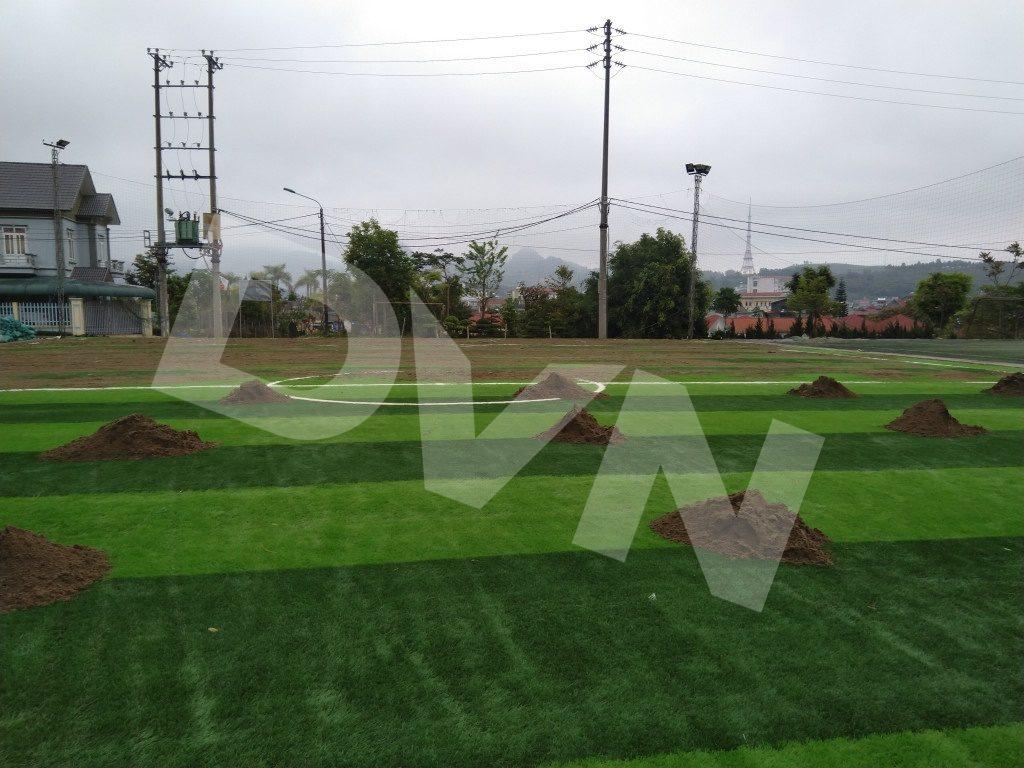 1, Một số hình ảnh của dự án sân bóng đátạiTp.Lai Châu 4