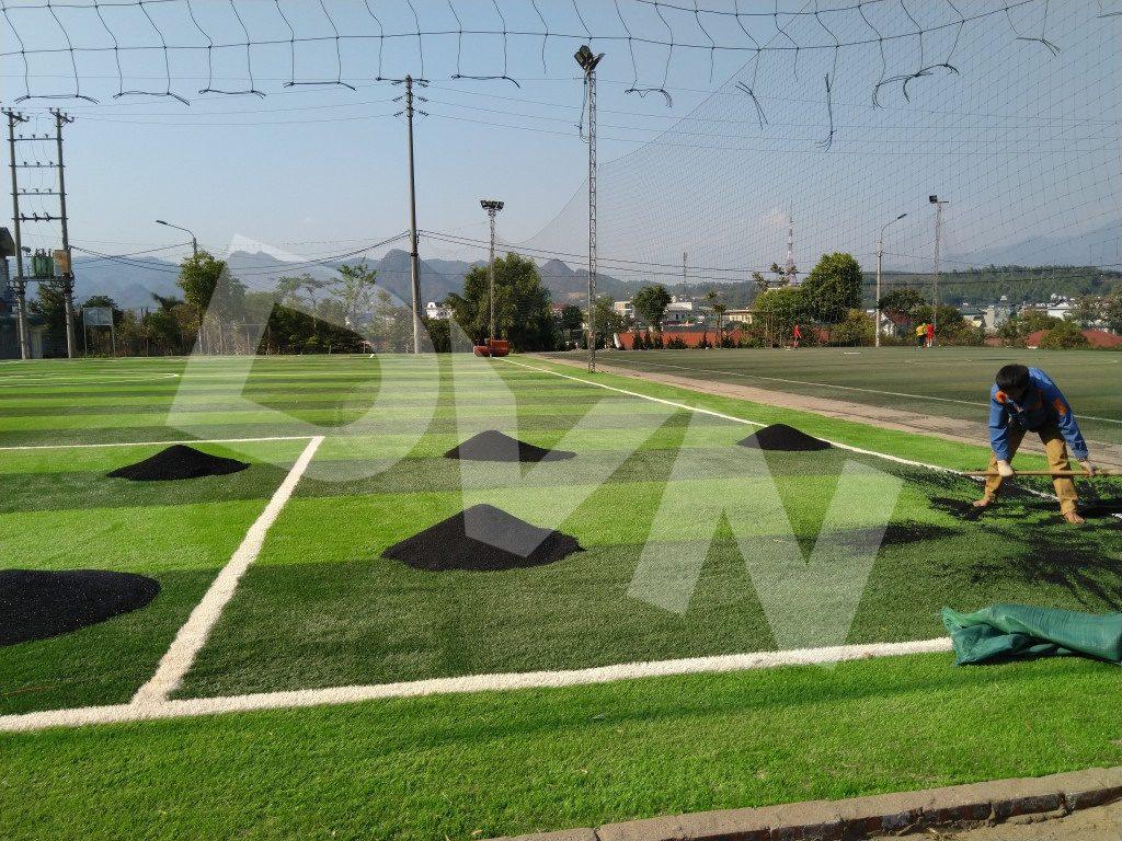 1, Một số hình ảnh của dự án sân bóng đátạiTp.Lai Châu 6